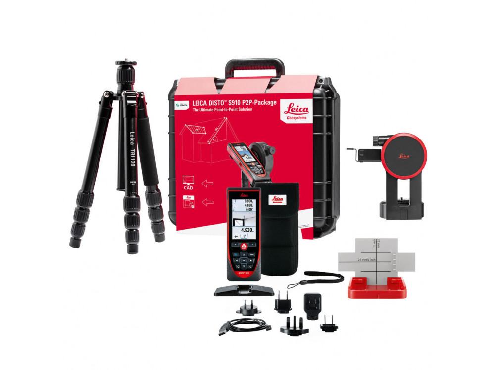 DISTO S910 NEW со штативом и адаптером 887900 в фирменном магазине Leica